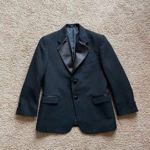 Boys Black Tuxedo Jacket